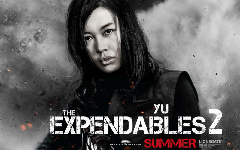 EXPENDABLES 2 action adventure thriller (52) wallpaper