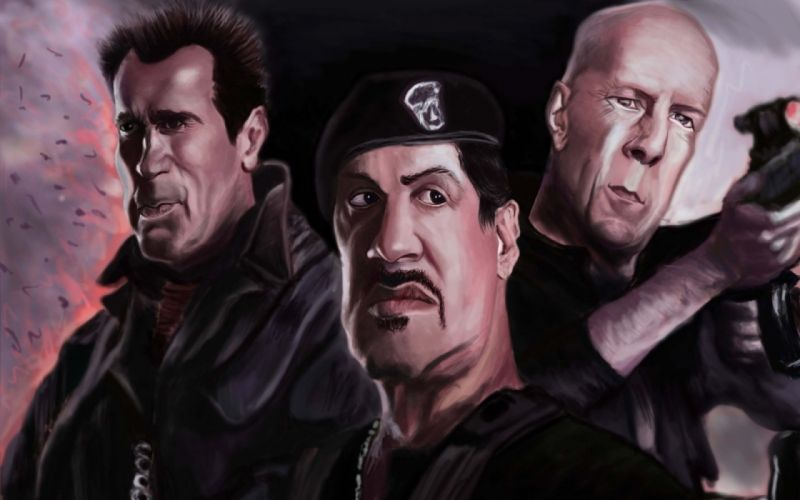 EXPENDABLES action adventure thriller t wallpaper