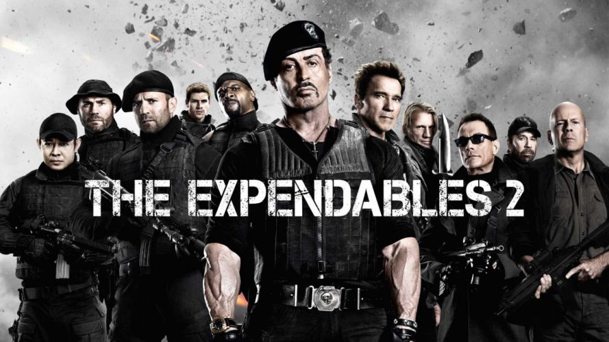 EXPENDABLES 2 action adventure thriller (60) wallpaper