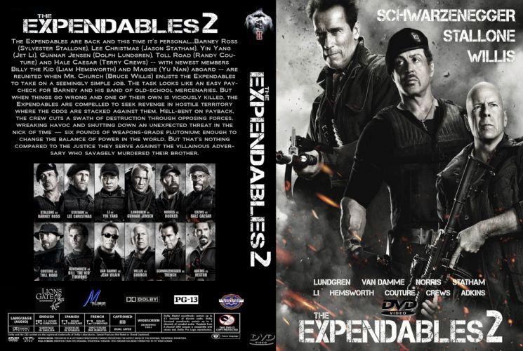 EXPENDABLES 2 action adventure thriller (58) wallpaper