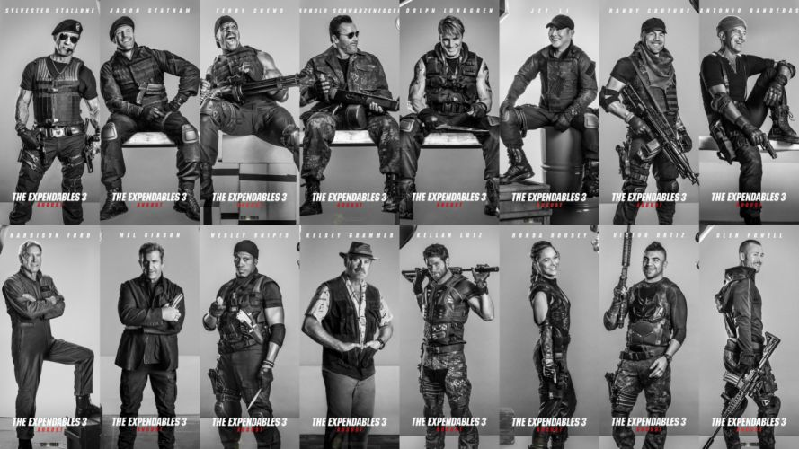 EXPENDABLES 3 action adventure thriller (43) wallpaper