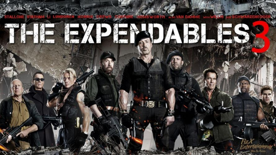 EXPENDABLES 3 action adventure thriller (50) wallpaper