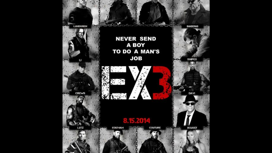 EXPENDABLES 3 action adventure thriller (49) wallpaper