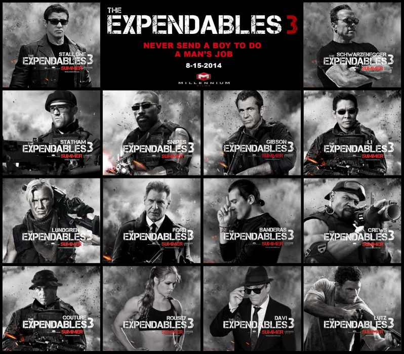 EXPENDABLES 3 action adventure thriller (52) wallpaper