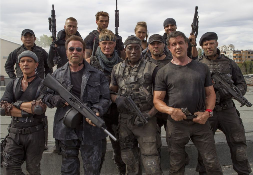 EXPENDABLES 3 action adventure thriller (82) wallpaper