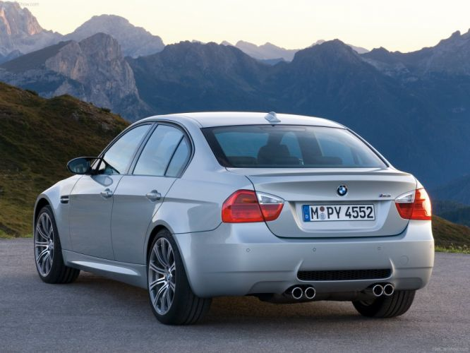 BMW e 90 m 3 sedan sportcars wallpaper
