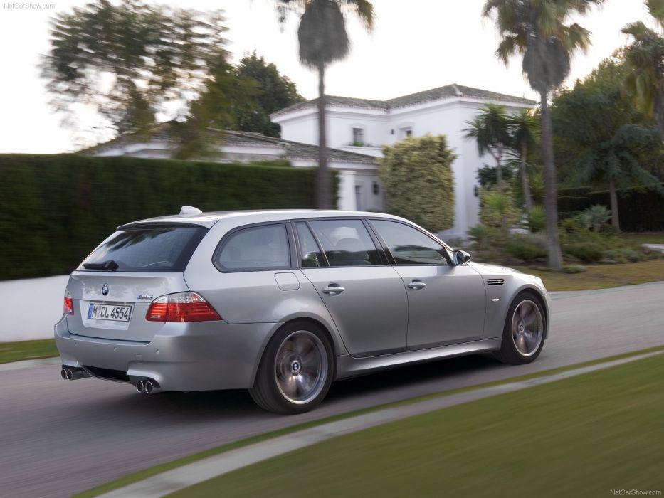 2008 BMW touring m5 wallpaper