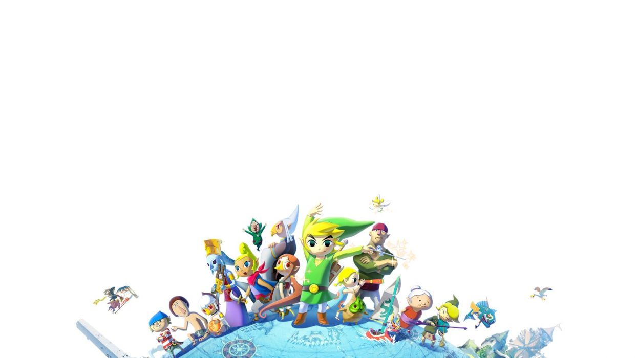 LEGEND ZELDA WINDWAKER action adventure family nintendo wallpaper