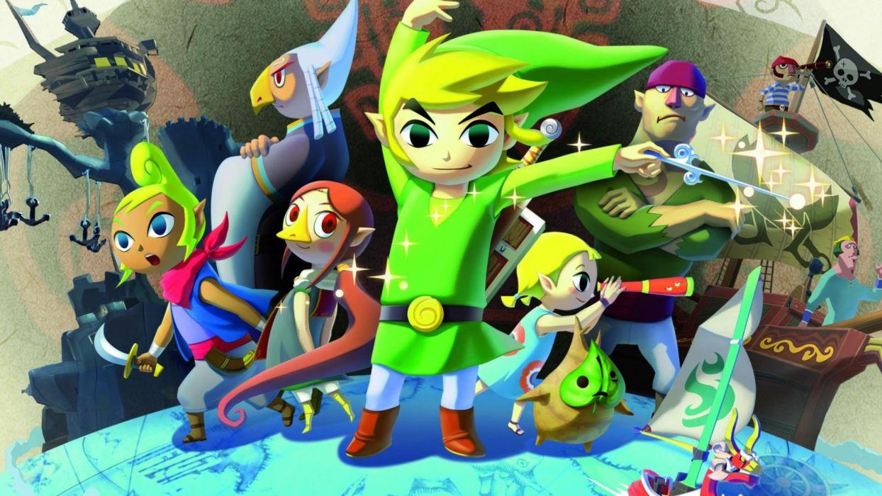 Legend Zelda Windwaker Action Adventure Family Nintendo