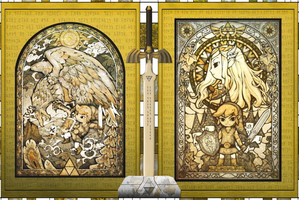 LEGEND ZELDA WINDWAKER action adventure family nintendo wallpaper