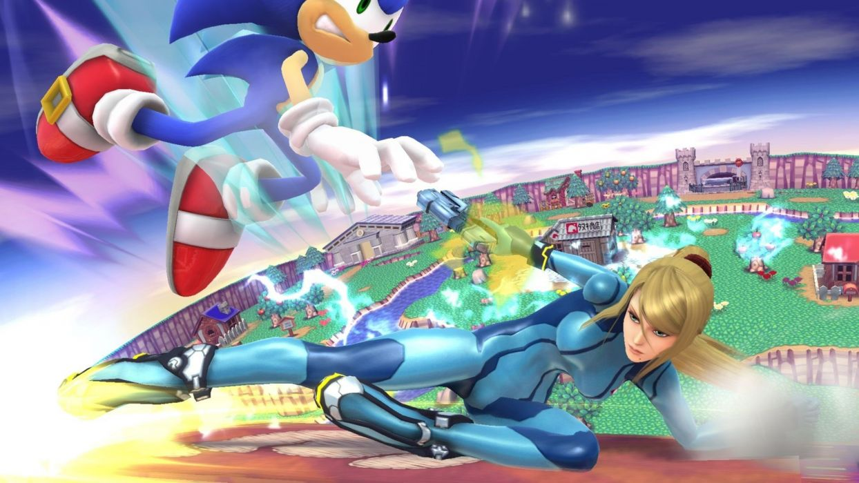 Super Smash Bros Nintendo Family Fighting Action Platform