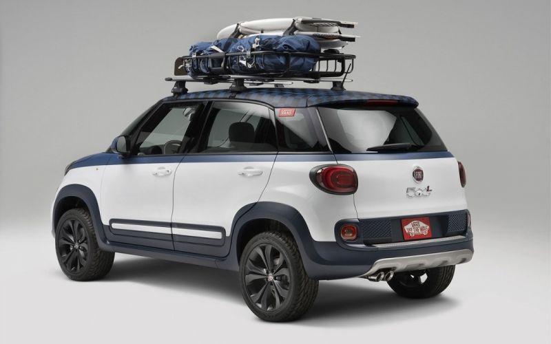 2014 Fiat 500L Vans Design Concept wallpaper