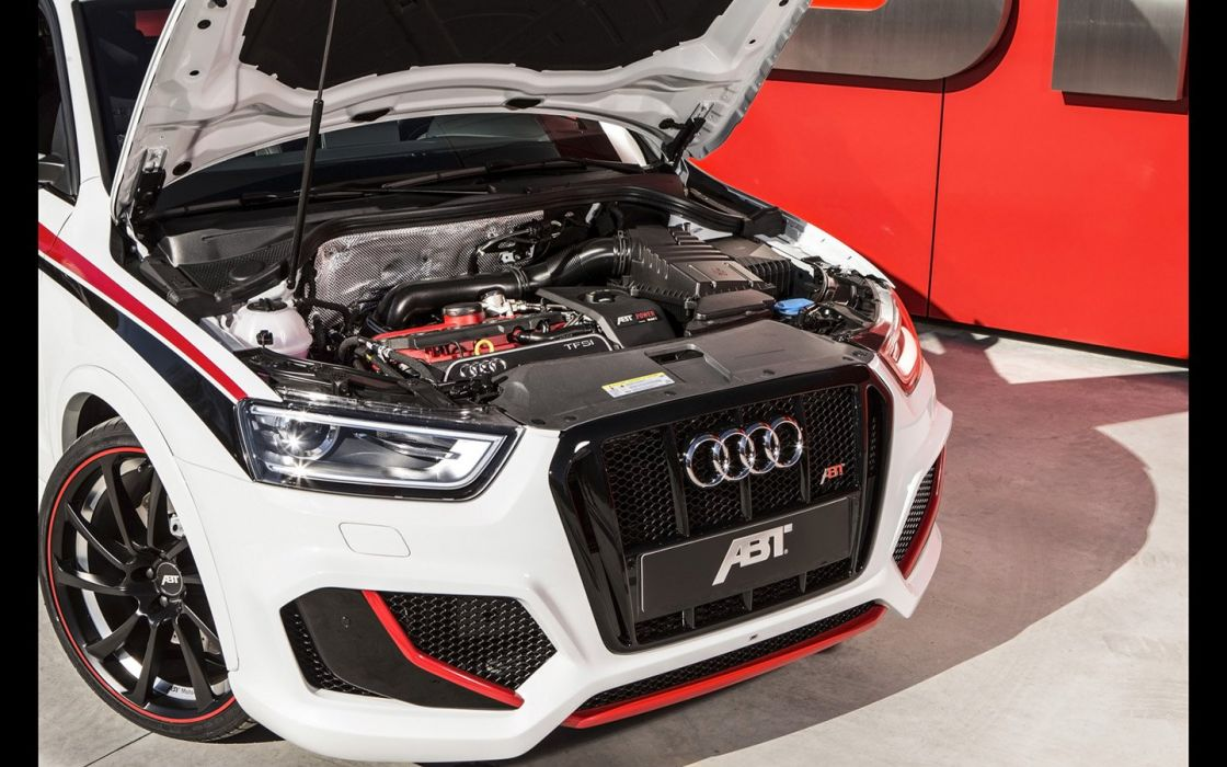 2014 ABT Audi RSQ3 tuning engine wallpaper