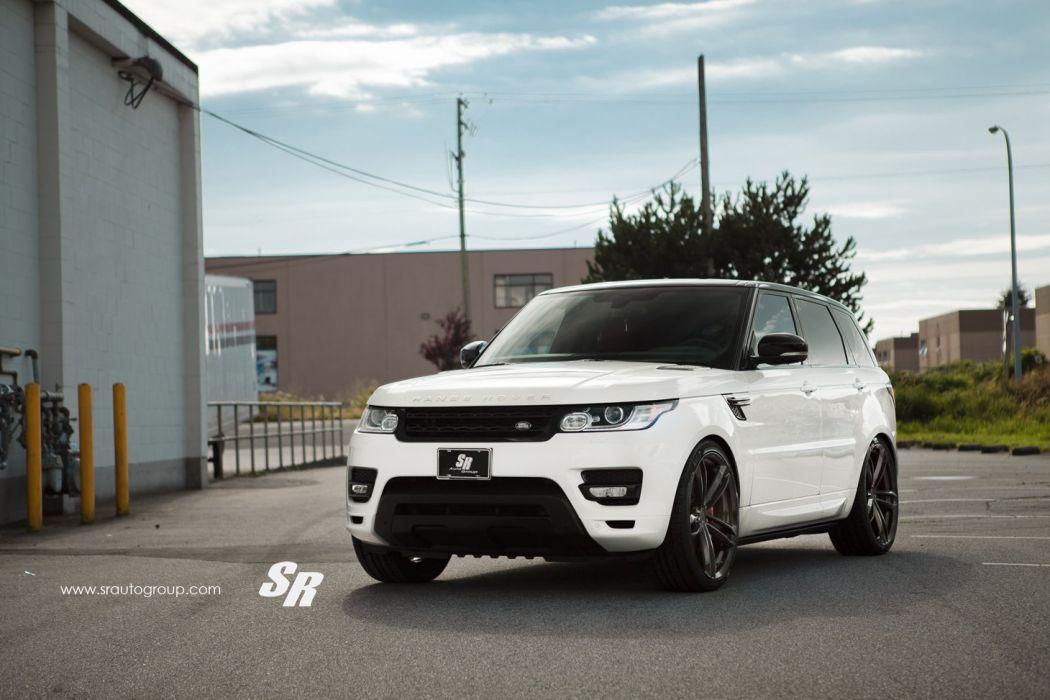 Range Rover pur wheels Gloss Black Diamond tuning wallpaper