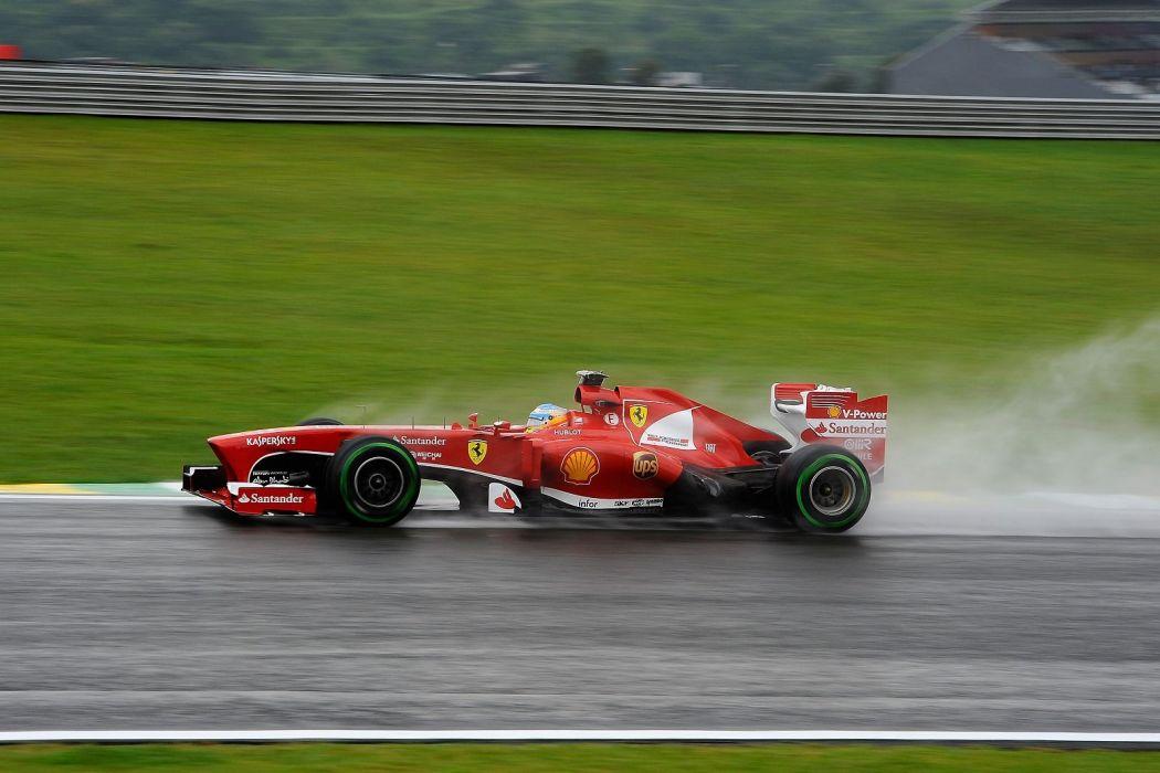 2013 f138 Ferrari Formula Race Racing scuderia ravitaillement Alonso massa wallpaper