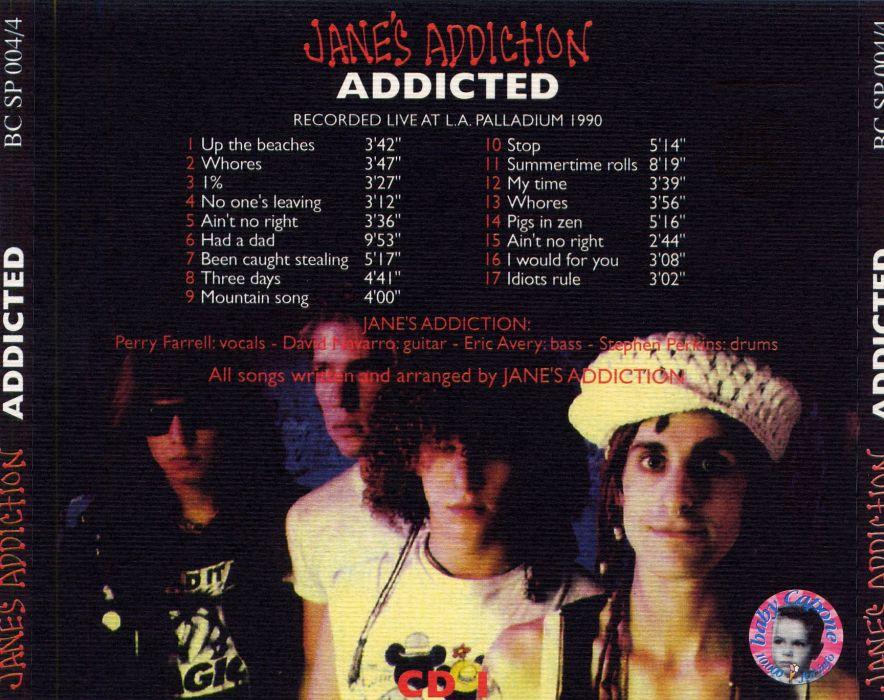 JANES ADDICTION alternative rock hard wallpaper