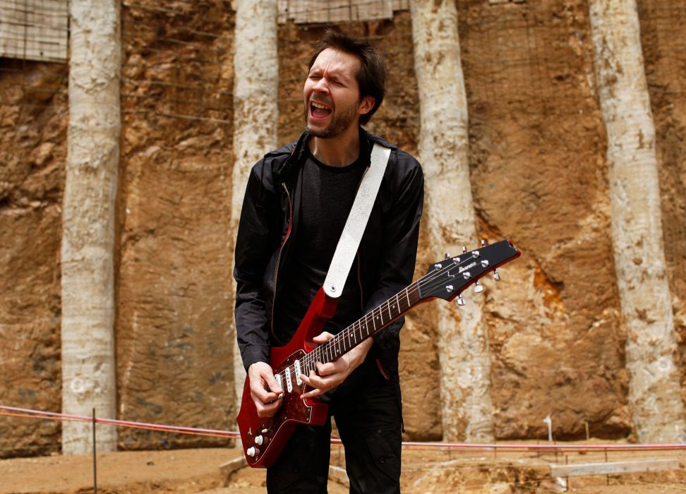 PAUL GILBERT guitar heavy metal hard rock racer-x wallpaper