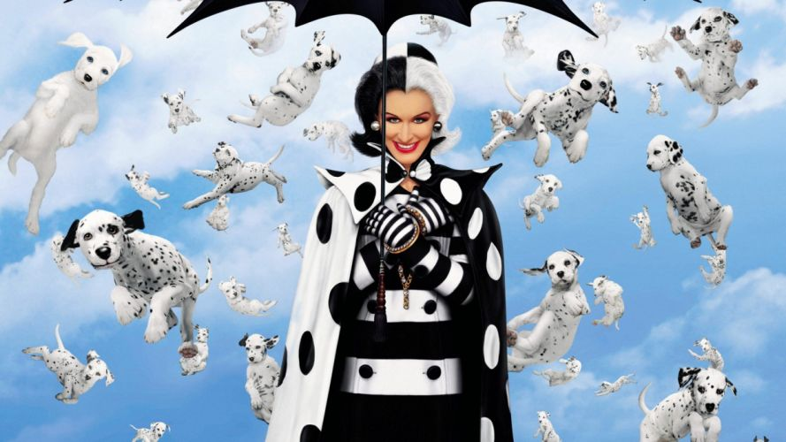 101-DALMATIANS comedy adventure family dog puppy 100 dalmatians wallpaper