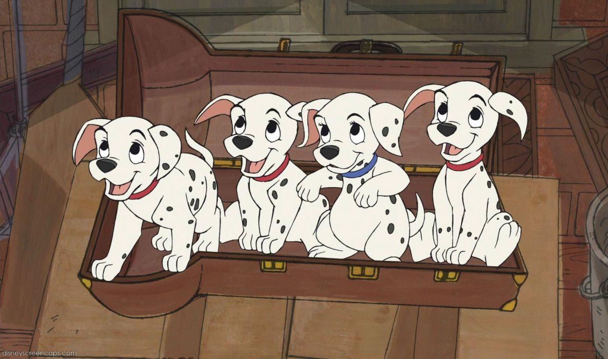 101-DALMATIANS comedy adventure family dog puppy 100 dalmatians disney wallpaper