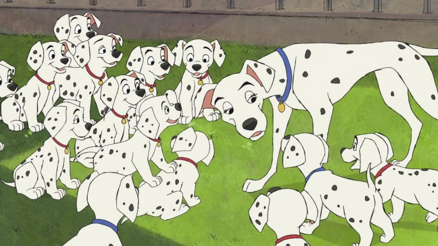 101-DALMATIANS comedy adventure family dog puppy 100 dalmatians disney wallpaper
