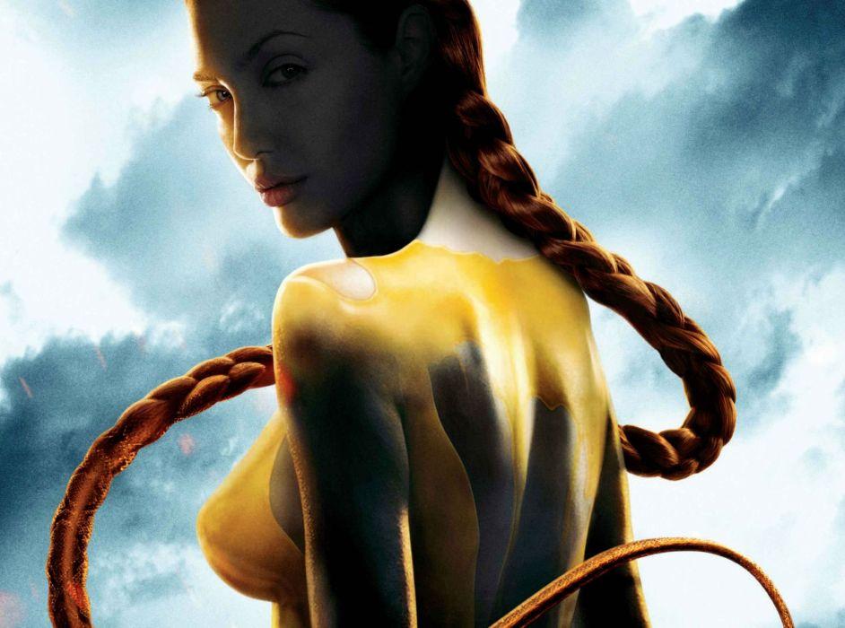 BEOWULF motion animation fantasy action adventure fantasy wallpaper