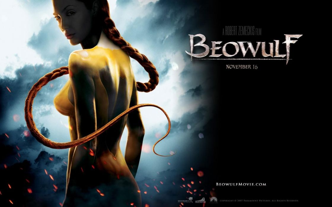 BEOWULF motion animation fantasy action adventure fantasy wallpaper