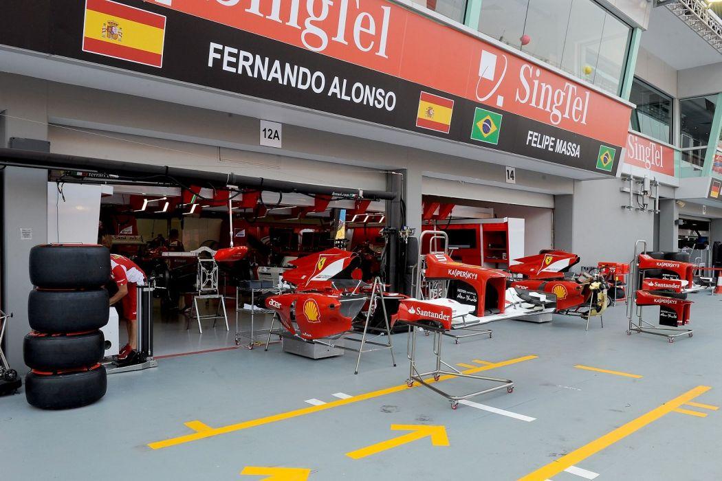 alonso massa 2012 cars f2012 Ferrari Formula one race stands mA wallpaper