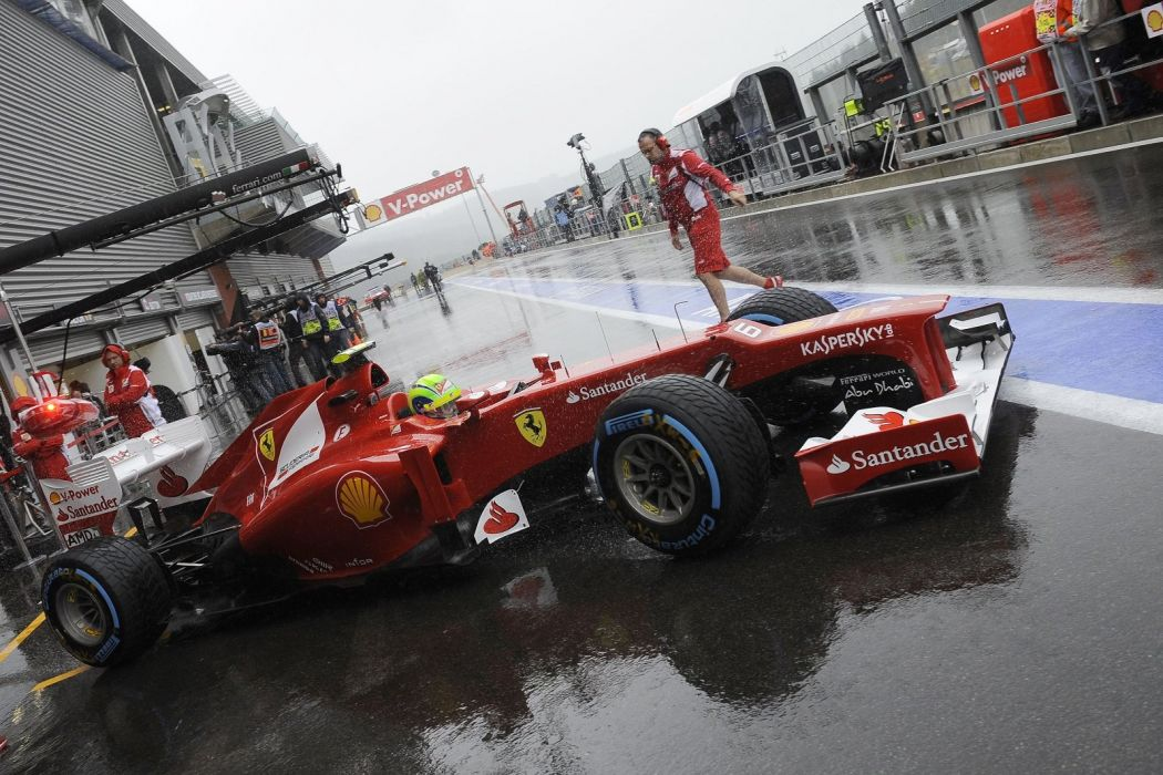 alonso massa 2012 cars f2012 Ferrari Formula one race stands pit-lane stands paddocks wallpaper