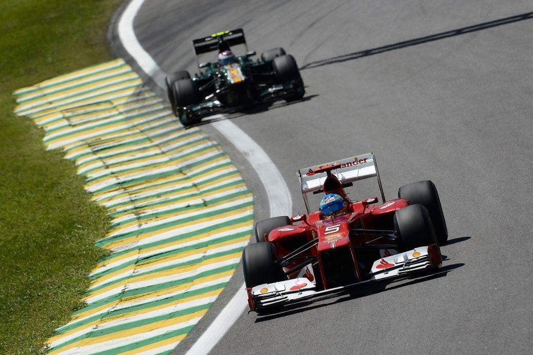 alonso massa 2012 cars f2012 Ferrari Formula one race scuderia wallpaper