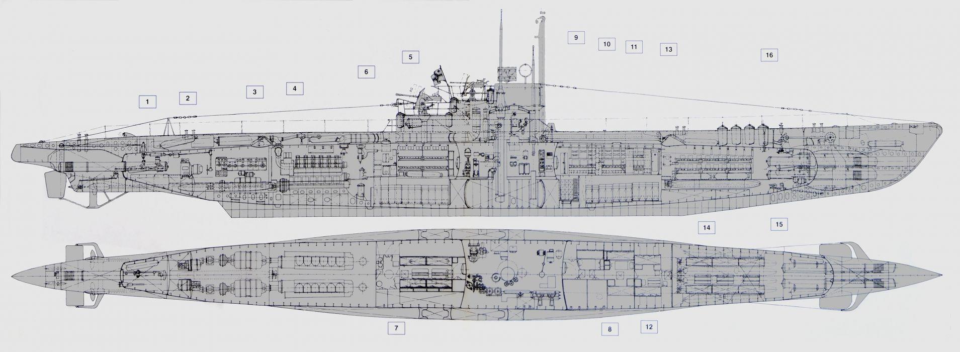 SUBMARINE ship boat military navy wallpaper