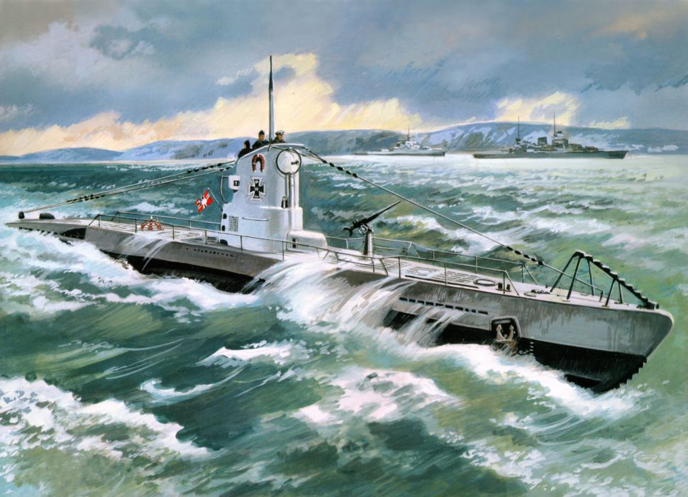 SUBMARINE ship boat military navy wallpaper
