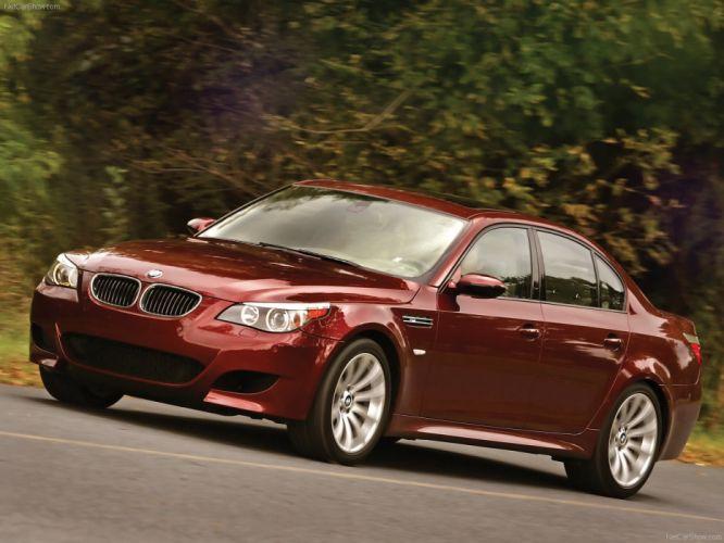 BMW M 5 2007 sedan wallpaper