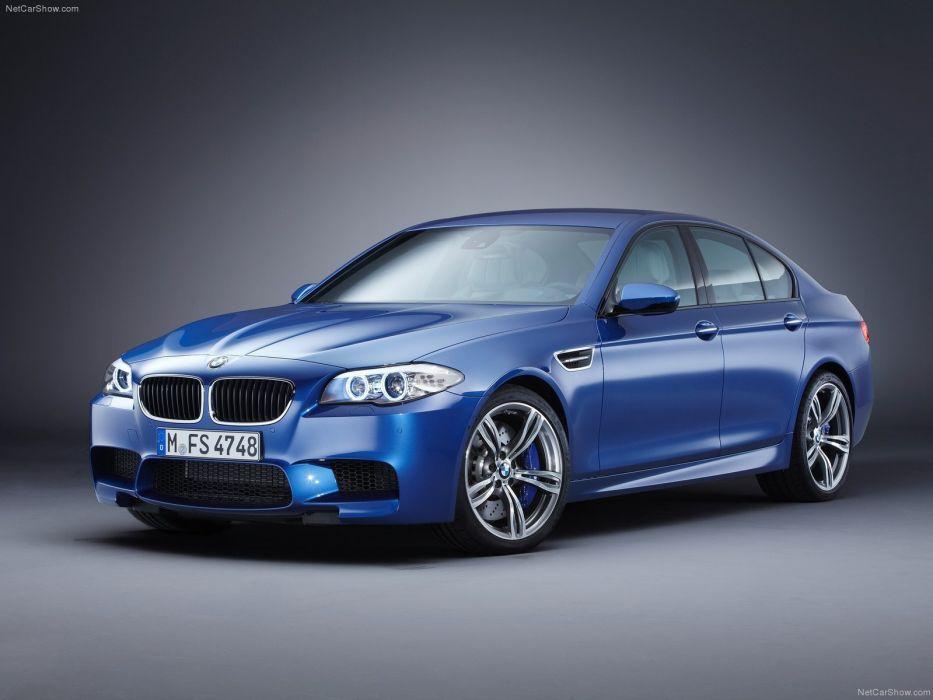 2012 bmw M5 F10 sedan blue bleue blu wallpaper