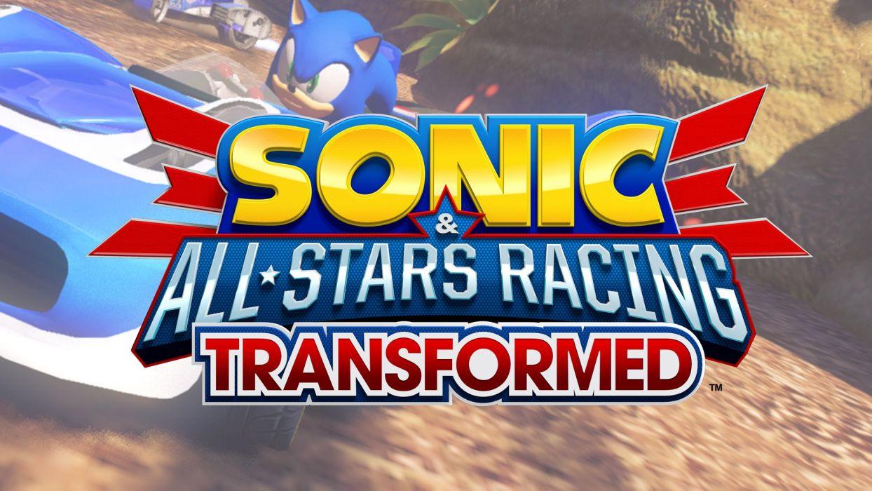 SONIC ALL-STARS RACING sega race family hedgehog wallpaper