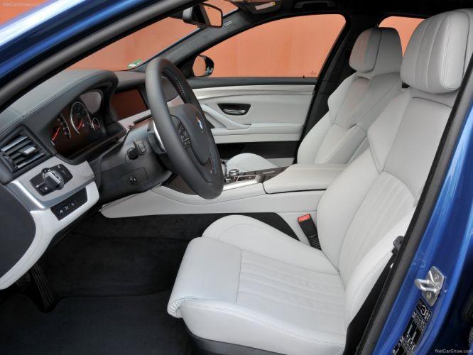 2012 bmw M5 F10 sedan blue bleue blu interior wallpaper
