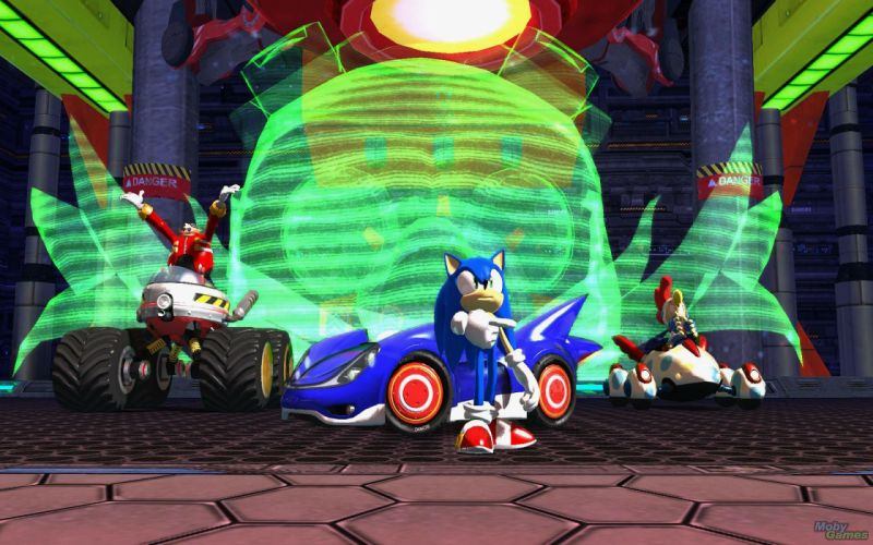 SONIC ALL-STARS RACING sega race family hedgehog wallpaper