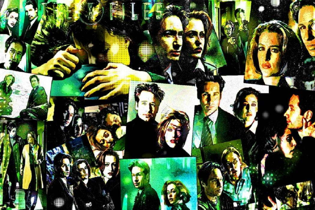 X Files wallpaper