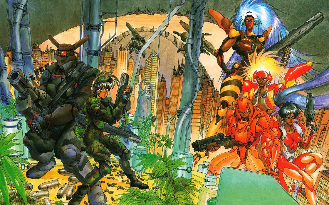 Appleseed Anime Fighting Manga Cyberpunk Sci Fi Wallpaper 1920x1200 410785 Wallpaperup