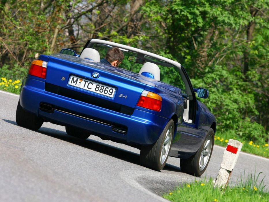 BMW Z1 convertible 1988 wallpaper