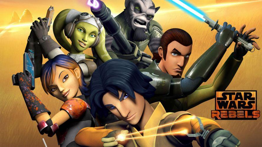Star Wars Rebels Crew wallpaper