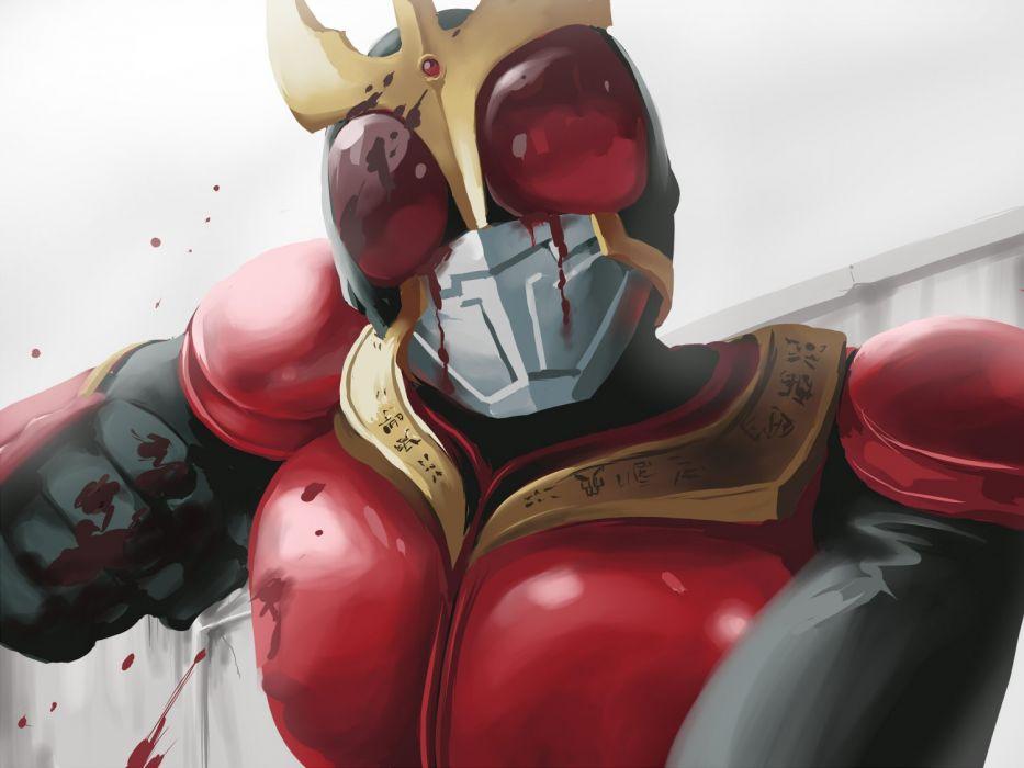 KAMEN-RIDER tokusatsu superhero series sci-fi manga anime kaman rider action wallpaper