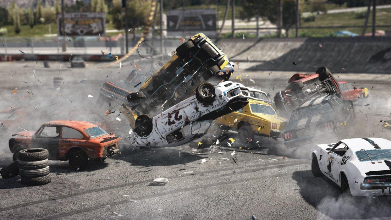 Next Car Game Racing Demolition Derby Race Hot Rod Rods Next