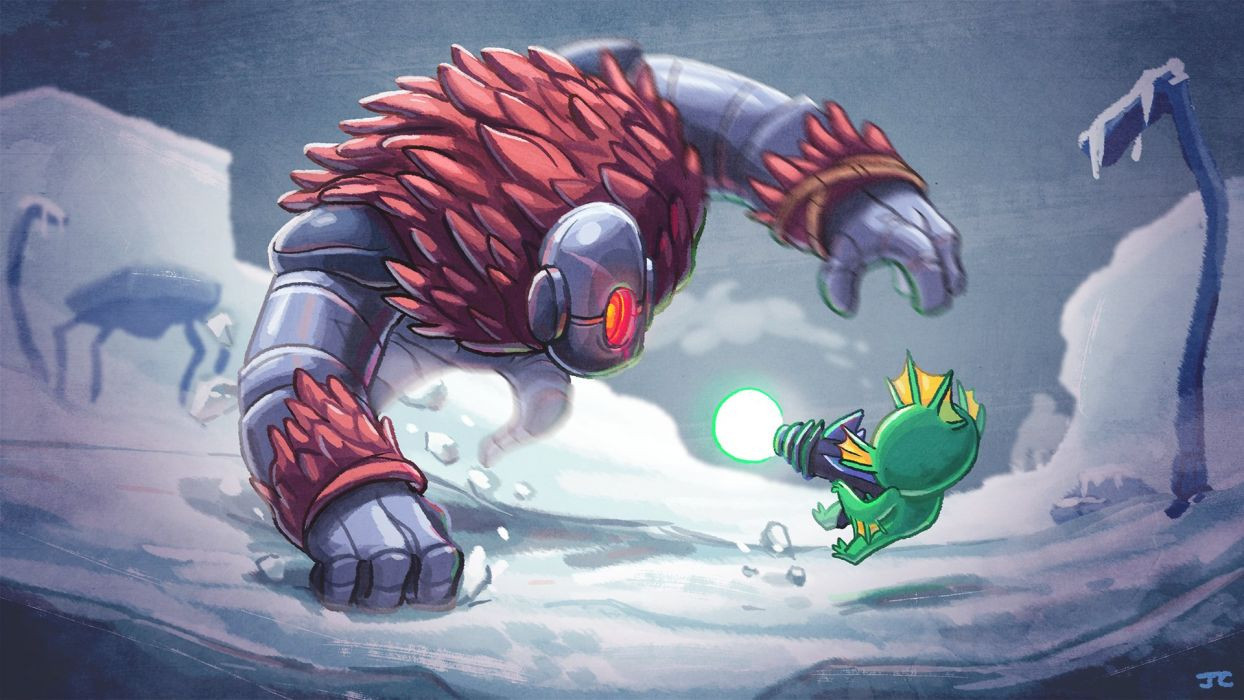 NUCLEAR THRONE action sci-fi family cartoon fighting apocalyptic wallpaper