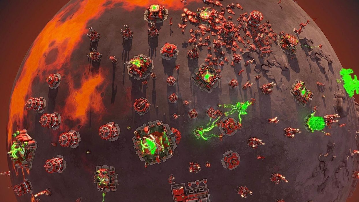 PLANETARY ANNIHILATION real-time strategy sci-fi action war wallpaper