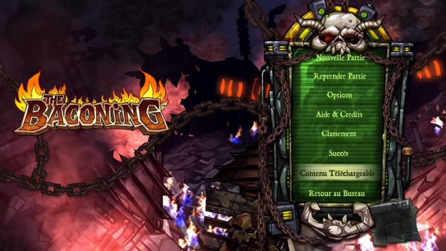 THE-BACONING sci-fi adventure action rpg baconing wallpaper