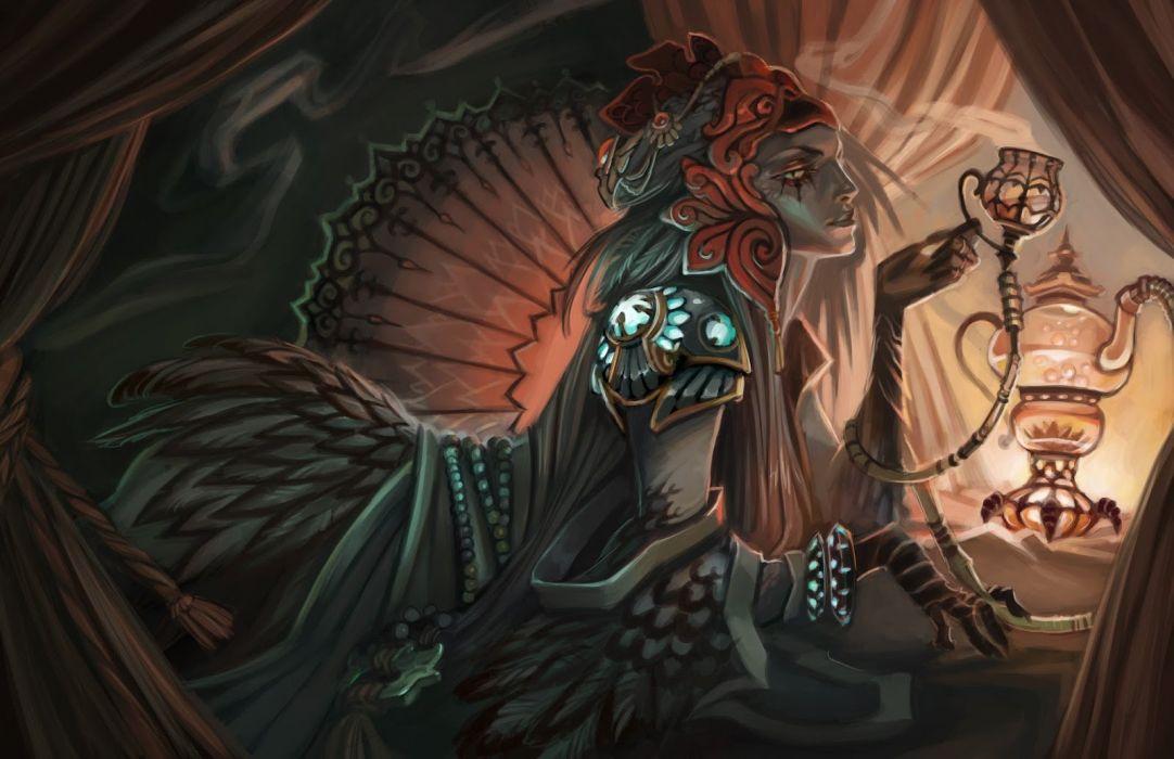 DAWNGATE online battle mmo rpg strategy fantasy sci-fi wallpaper