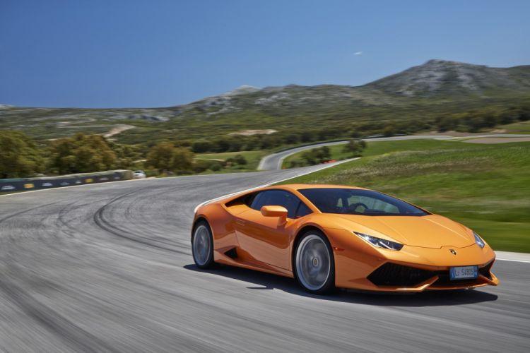 2014 - 610 4 - huracan - Lamborghini - Supercars wallpaper
