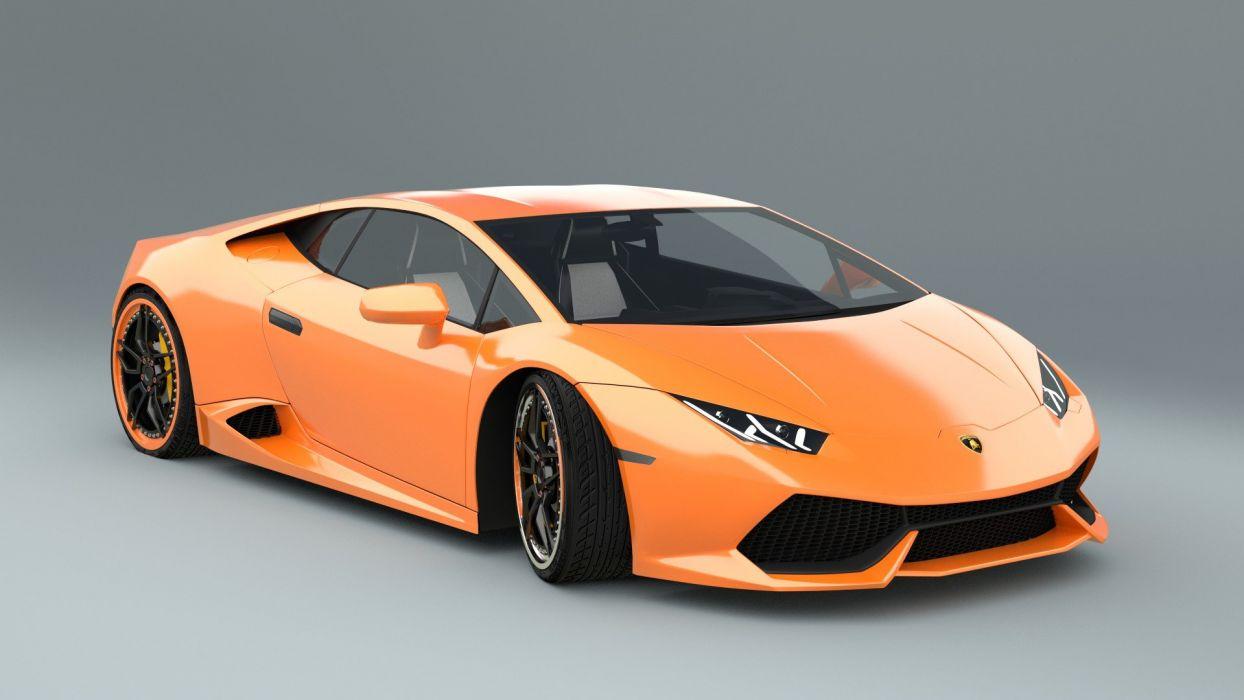 2014 - 610 4 - huracan - Lamborghini - Supercars tuning wallpaper