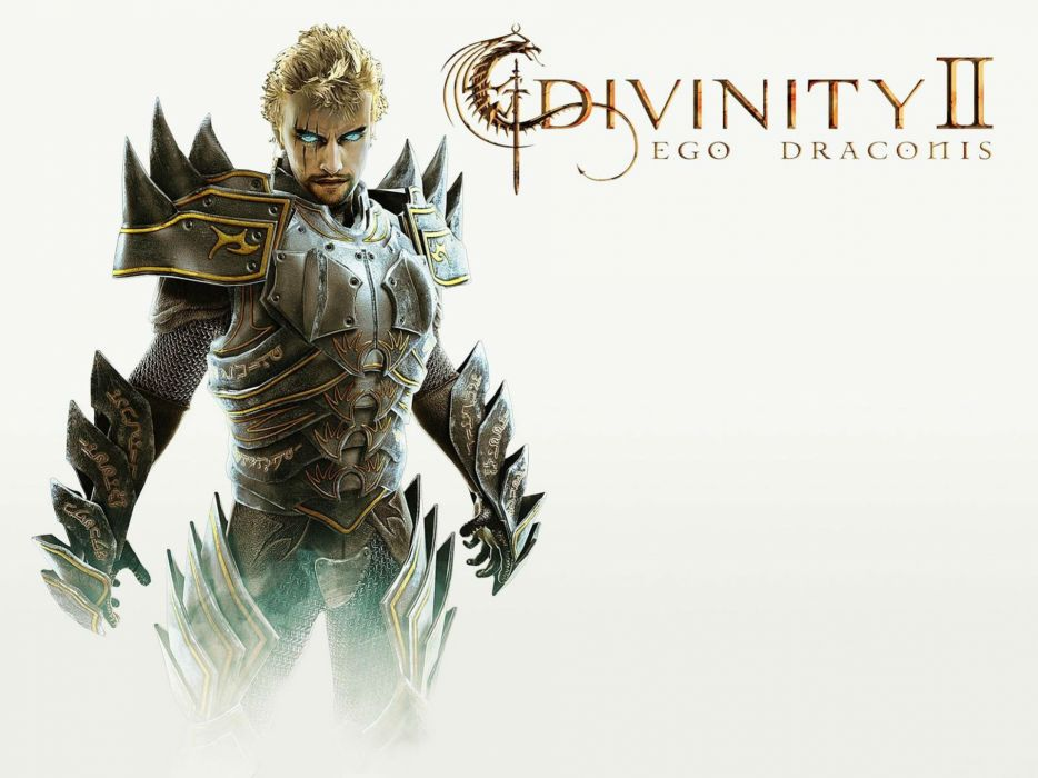 DIVINITY-ll DRAGON KNIGHT strategy rpg fantasy adventure sci-fi divinity wallpaper