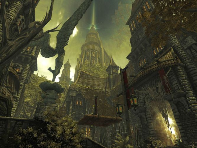 DIVINITY-ll DRAGON KNIGHT strategy rpg fantasy adventure sci-fi divinity wallpaper